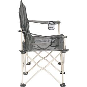 CAMPZ Silla Doble Plegable Malla, gris